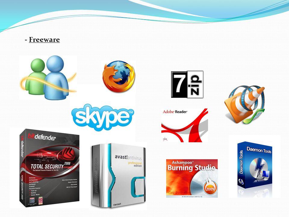 - Freeware