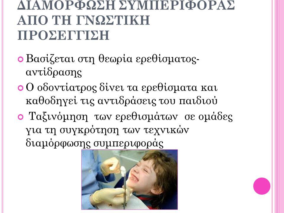 ΔΥΝΑΤΟΤΗΤΑ ΣΥΝΕΡΓΑΣΙΑΣ 1. Συνεργάσιμα ανταποκρίνονται πλήρως στις μη φαρμακολογικές τεχνικές