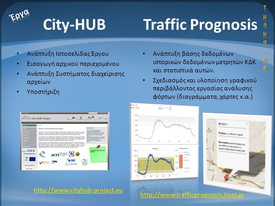 • Ανάπτυξη Ιστοσελίδας Έργου • Εισαγωγή αρχικού περιεχομένου • Ανάπτυξη Συστήματος διαχείρισης αρχείων • Υποστήριξη • Ανάπτυξη βάσης δεδομένων ιστορικ