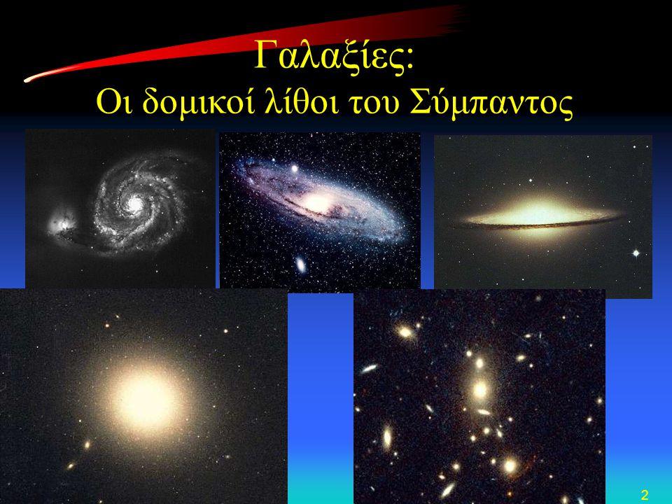 2 Γαλαξίες: Οι δομικοί λίθοι του Σύμπαντος