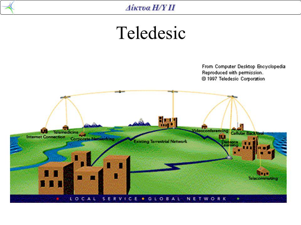 Δίκτυα Η/Υ ΙΙ Teledesic