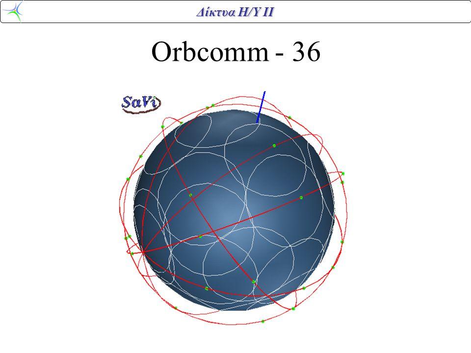 Δίκτυα Η/Υ ΙΙ Orbcomm - 36