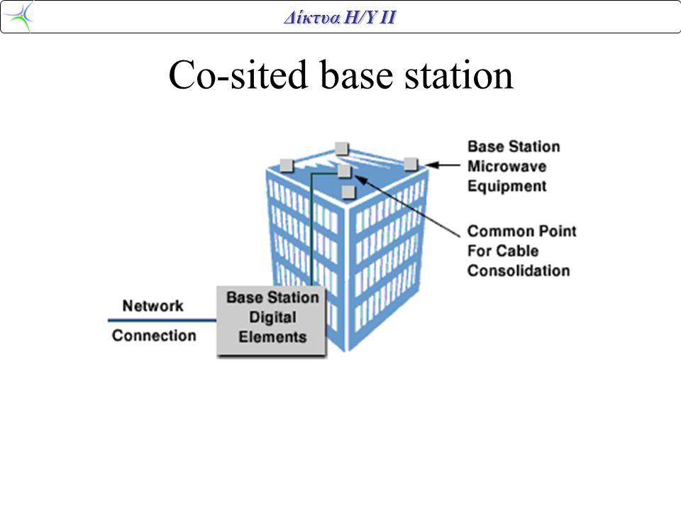 Δίκτυα Η/Υ ΙΙ Very Small Aperture Terminal •1m antenna •Uplink 1Watt – 19.2Kbps •Downlink – 512Kbps