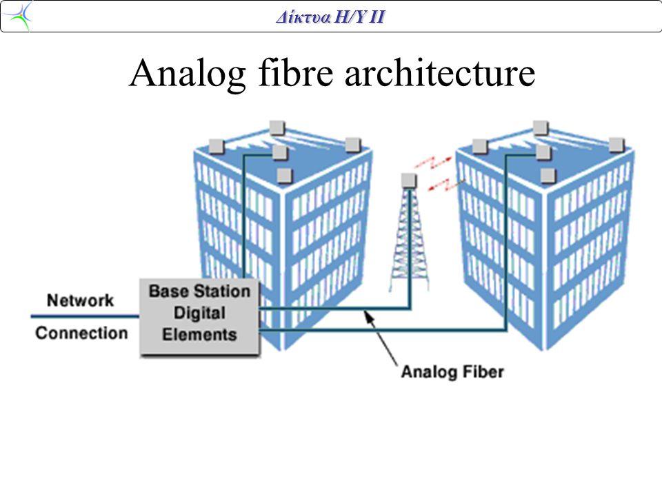 Δίκτυα Η/Υ ΙΙ Analog fibre architecture