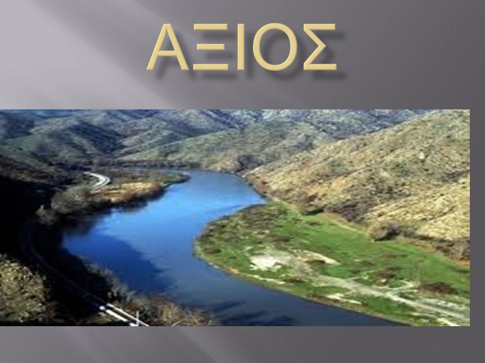 Ο Αξιός ή Βαρδάρης (Вардар) είναι ο μεγαλύτερος ποταμός που διασχίζει τη Μακεδονία και ο δεύτερος μεγαλύτερος των Βαλκανίων (μετά τον Έβρο), με μήκος 380 χλμ, από τα οποία μόνο τα 76 είναι σε ελληνικό έδαφος.
