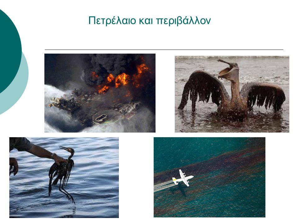Πετρέλαιο και περιβάλλον