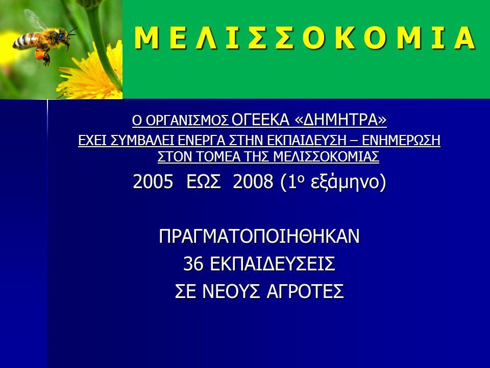ΠΙΟ ΑΝΑΛΥΤΙΚΑ  Στο πλαίσιο εφαρμογής των 256276/15-2-05, 267023/22-4-2010, Αποφάσεων του Υπουργού Αγροτικής Ανάπτυξης & Τροφίμων για την υλοποίηση του προγράμματος βελτίωσης της παραγωγής και εμπορίας του μελιού έτους 2010 ο Ο.Γ.Ε.Ε.Κ.Α.