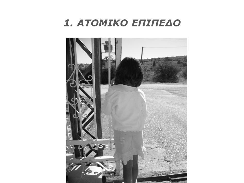 1. ΑΤΟΜΙΚΟ ΕΠΙΠΕΔΟ