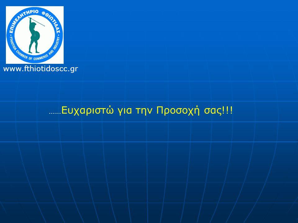 …… Ευχαριστώ για την Προσοχή σας!!! www.fthiotidoscc.gr