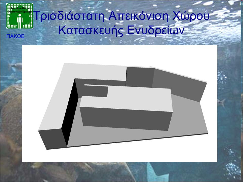Τρισδιάστατη Απεικόνιση Χώρου Κατασκευής Ενυδρείων