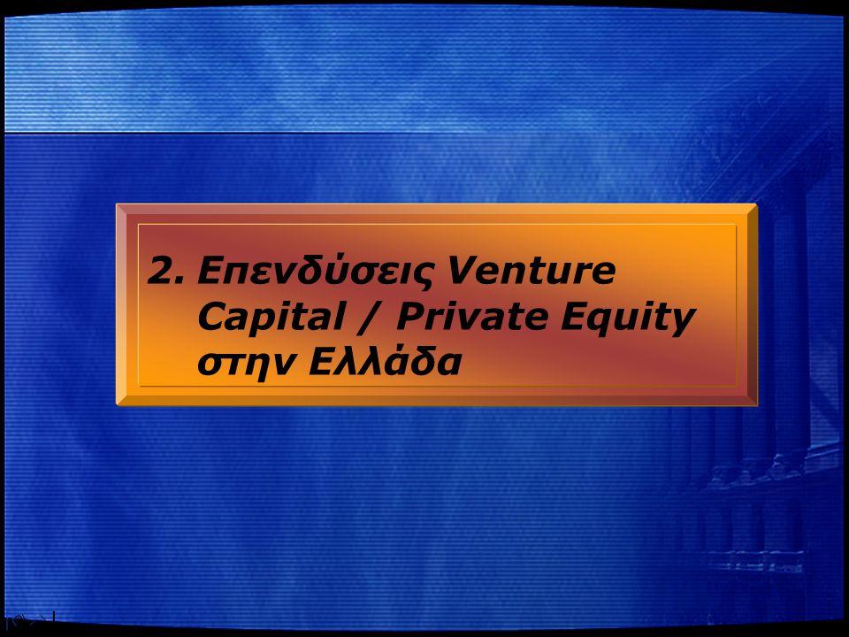 4 Η Ελλάδα παραμένει ουραγός στα αντληθέντα VC/PE κεφάλαια στην ΕΕ… Αντληθέντα Κεφάλαια ως % του ΑΕΠ 2003 Πηγή : EVCA Survey, 2004 0,02%