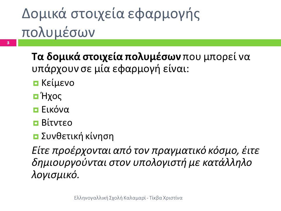 Λεκτική ανάπτυξη Ελληνογαλλική Σχολή Καλαμαρί - Τίκβα Χριστίνα  Κείμενο : Τα κείμενα γράφονται και μορφοποιούνται με προγράμματα επεξεγρασίας κειμένου.