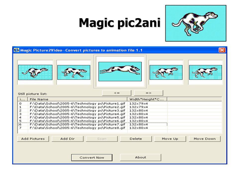 Magic pic2ani