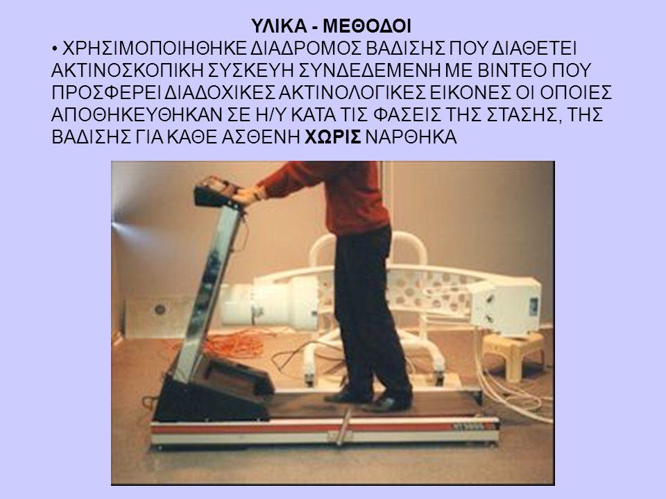 • ΧΡΗΣΙΜΟΠΟΙΗΘΗΚΕ ΔΙΑΔΡΟΜΟΣ ΒΑΔΙΣΗΣ ΠΟΥ ΔΙΑΘΕΤΕΙ ΑΚΤΙΝΟΣΚΟΠΙΚΗ ΣΥΣΚΕΥΗ ΣΥΝΔΕΔΕΜΕΝΗ ΜΕ ΒΙΝΤΕΟ ΠΟΥ ΠΡΟΣΦΕΡΕΙ ΔΙΑΔΟΧΙΚΕΣ ΑΚΤΙΝΟΛΟΓΙΚΕΣ ΕΙΚΟΝΕΣ ΟΙ ΟΠΟΙΕΣ