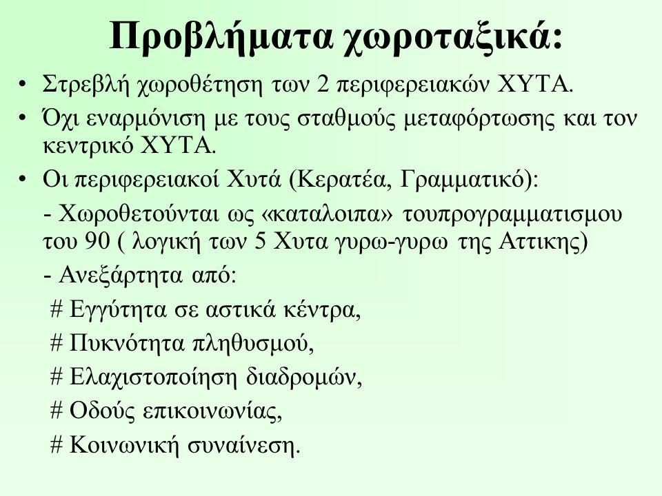 Προτάσεις θεσεις: •Δημιουργία νέου φορέα διαχείρισης των απορριμμάτων με την λήξη θητείας του ΕΣΔΚΝΑ (ήδη γίνεται!!!).