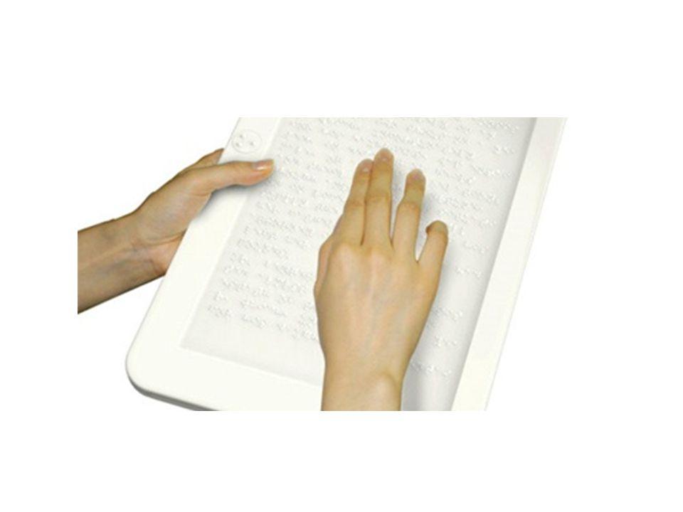Screen Reader • Βοήθημα για τα τυφλά άτομα να πλοηγηθούν στο διαδίκτυο με τον αναγνώστη οθόνης.