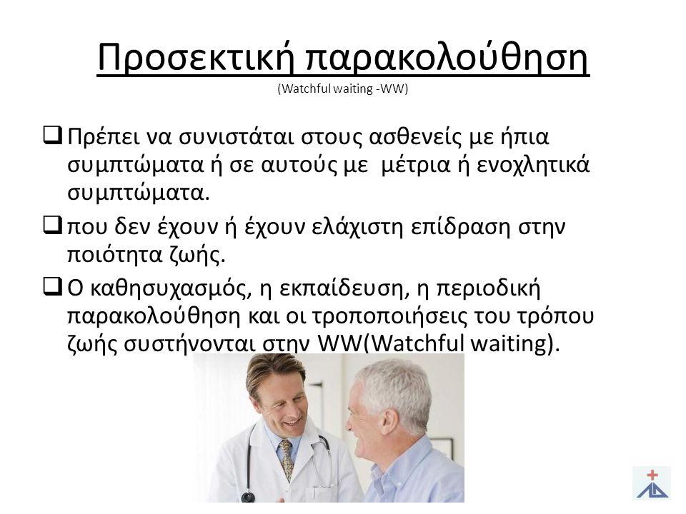 Φαρμακευτική θεραπεία 1.α 1-αναστολείς.2.Αναστολείς της 5α – ρεδουκτάσης.