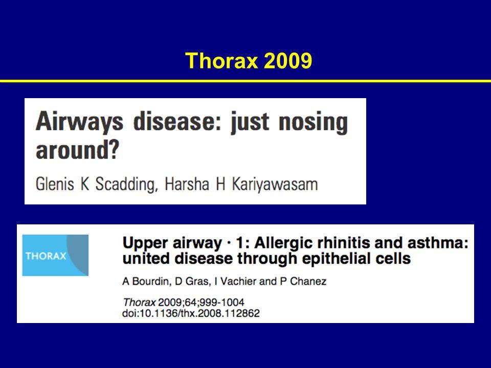 Thorax 2009