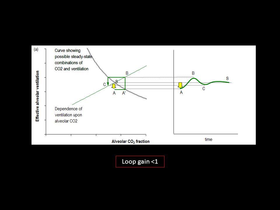 Loop gain <1