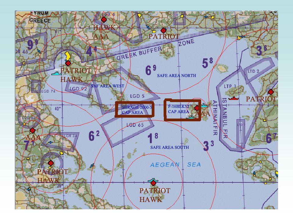 Επιχείρηση Φοίνικας Αποστολή no1 •ΕΠΕΞΗΓΗΣΗ ΧΑΡΤΗ ΑΠΟΣΤΟΛΗΣ •Τα μπλέ πλοία στον χάρτη αντιπροωπεύουν τι θέσεις των ελληνικών φρεγατών Spruance.