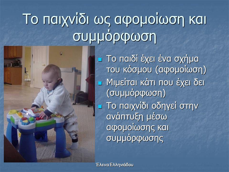 Έλενα Ελληνιάδου Σχήμα: «Διατήρηση του όγκου»