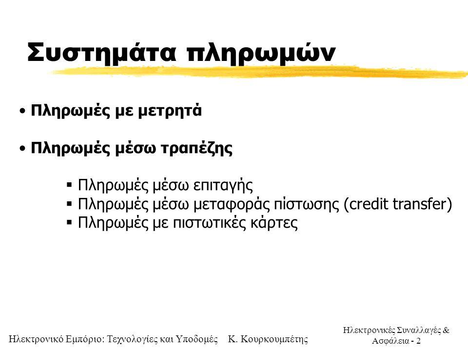 Ηλεκτρονικό Εμπόριο: Τεχνολογίες και Υποδομές Κ.