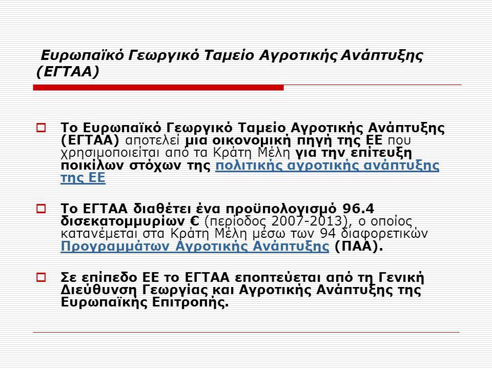 Διαβούλευση για το νέο Π.Α.Α.στην Ελλάδα  1 ο Συνέδριο για την Α.Α.