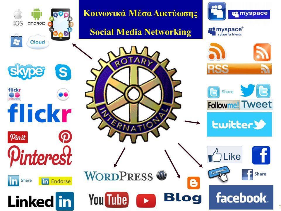 7 Κοινωνικά Μέσα Δικτύωσης Social Media Networking
