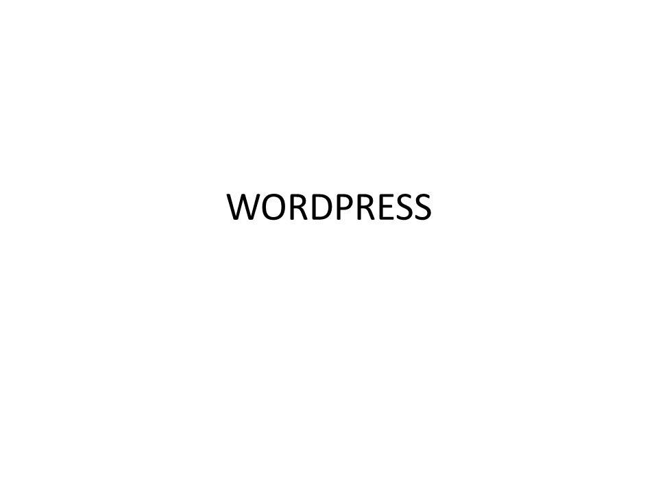 Χρήσιμα sites για wordpress instalation • http://www.EasyPHP.org/download.php http://www.EasyPHP.org/download.php • http://127.0.0.1:8888/home/MySQL/ http://127.0.0.1:8888/home/MySQL/ • Διαμόρφωση-> PhpMyAdmin