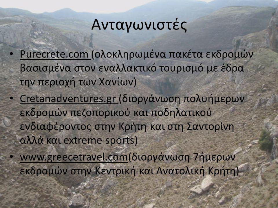 • Οποιαδήποτε ηλικιακή ομάδα με σχετικά καλή φυσική κατάσταση- απλή πεζοπορία • Φυσιολάτρες- όχι πωρωμένοι ορειβάτες.