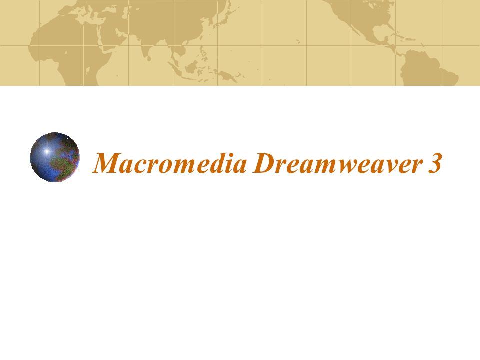 Εργαστήριο 173 Εκκίνηση εφαρμογής: Start – Programs – Macromedia Dreamweaver 3 Βασικό Παράθυρο: Στο κυρίως παράθυρο εμφανίζεται το κείμενο, όπως εμείς το δημιουργούμε και περίπου όπως αυτό θα εμφανιστεί σε ένα Web Browser Η title bar του παραθύρου εμφανίζει τον τίτλο της σελίδας και σε παρένθεση το όνομα του αρχείου και έναν αστερίσκο εφόσον το αρχείο περιέχει αλλαγές που δεν έχουν σωθεί Στο κάτω αριστερό μέρος του παραθύρου υπάρχει ο tag selector, όπου εμφανίζονται τα tags που χρησιμοποιούνται σε ένα επιλεγμένο κείμενο Στο κάτω δεξιά μέρος υπάρχουν κάποια κουμπιά (mini-launcher) που ενεργοποιούν συγκεκριμένες παλέτες και παράθυρα Λίγο πιο αριστερά εμφανίζονται μια εκτίμηση του μεγέθους του κειμένου καθώς και ο χρόνος για να γίνει download η σελίδα Εκκίνηση – Βασικό Παράθυρο