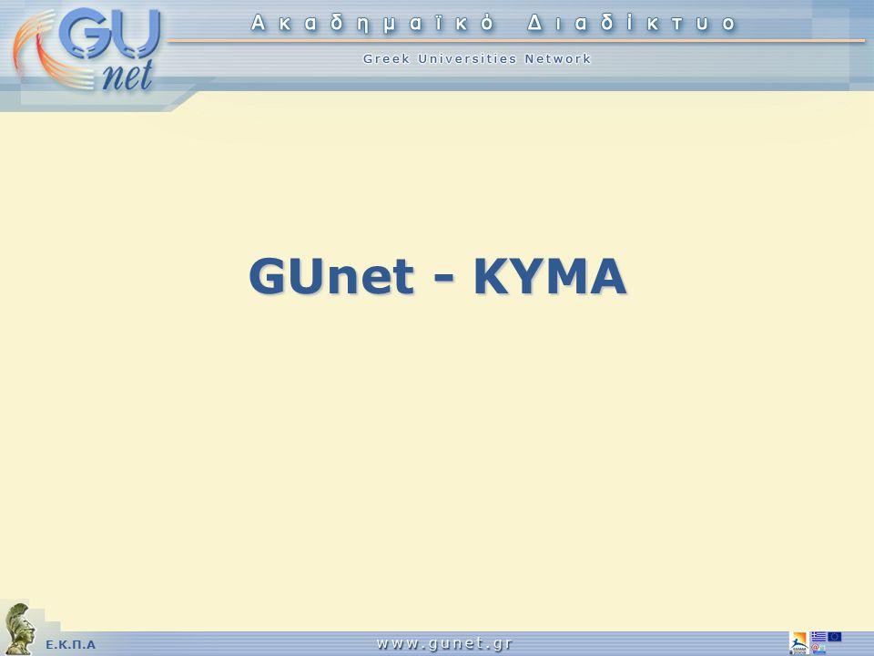 Ε.Κ.Π.Α GUnet - KYMA