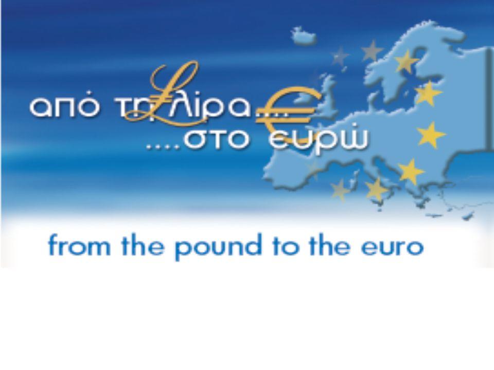 Από τη λίρα στο ευρώ  Έκθεση Ιστορική αναδρομή του νομίσματος της Κυπριακής Δημοκρατίας  Ευρώ Τα χαρακτηριστικά των χαρτονομισμάτων & κερμάτων ευρώ 2