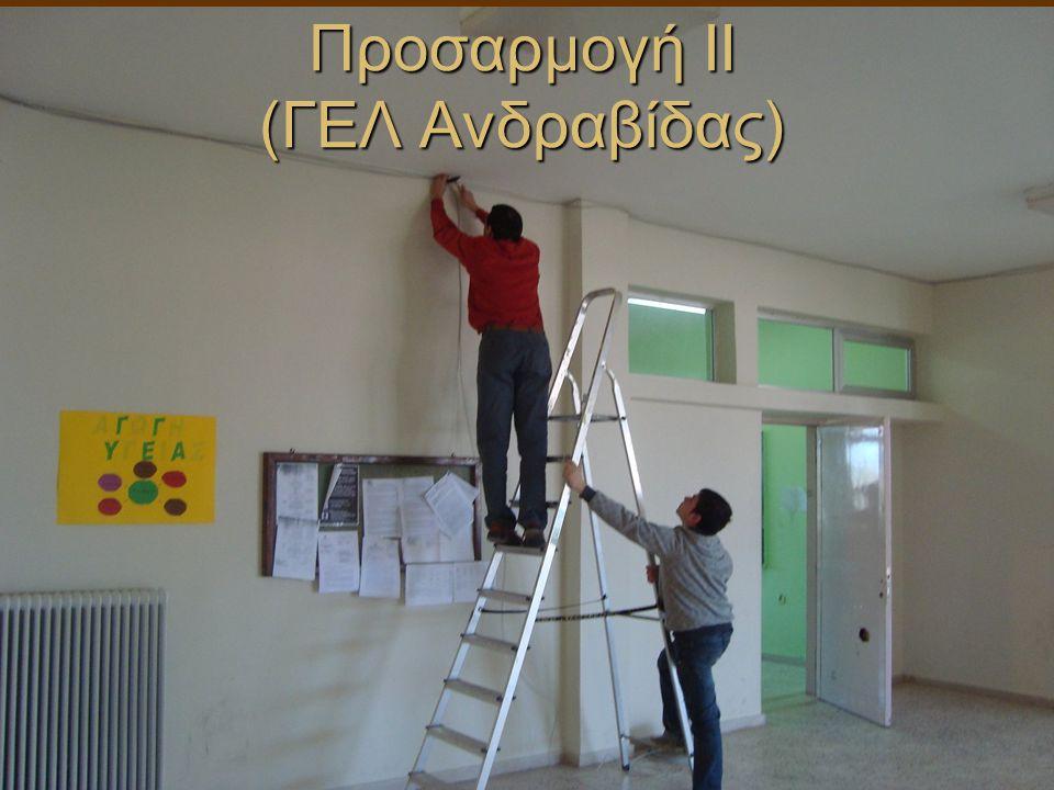 Προσαρμογή II (ΓΕΛ Ανδραβίδας)