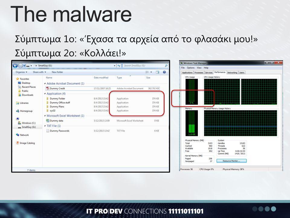 The malware: Aftermath @aantonop is Andreas M.
