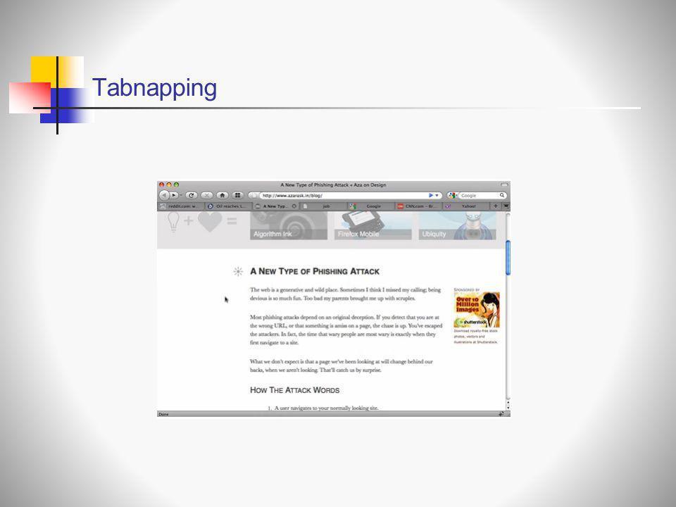 Tabnapping