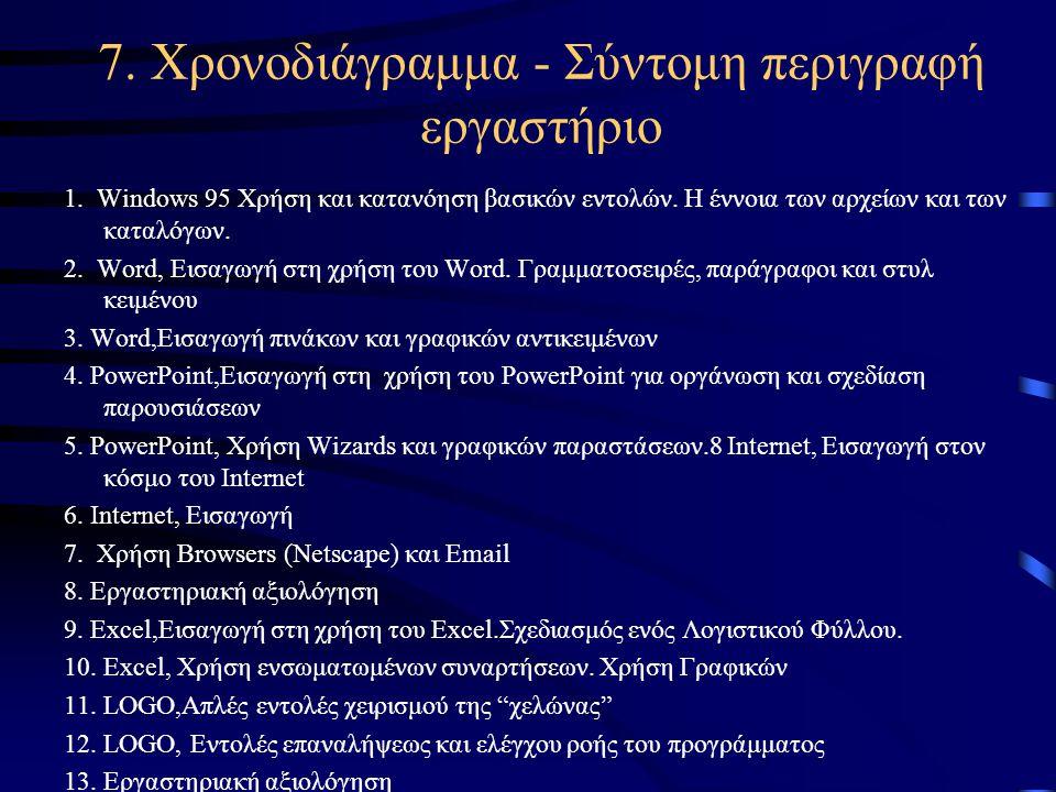 6Διαδίκτυο, WWWΤο Διαδίκτυο (Internet) δεν έχει φέρει επανάσταση μόνο στο τρόπο με τον οποίο προσεγγίζεται η γνώση, αλλά αποτελεί πλέον οργανικό μέρος της κοινωνικής, πολιτιστικής, οικονομικής και πολιτικής ζωής.