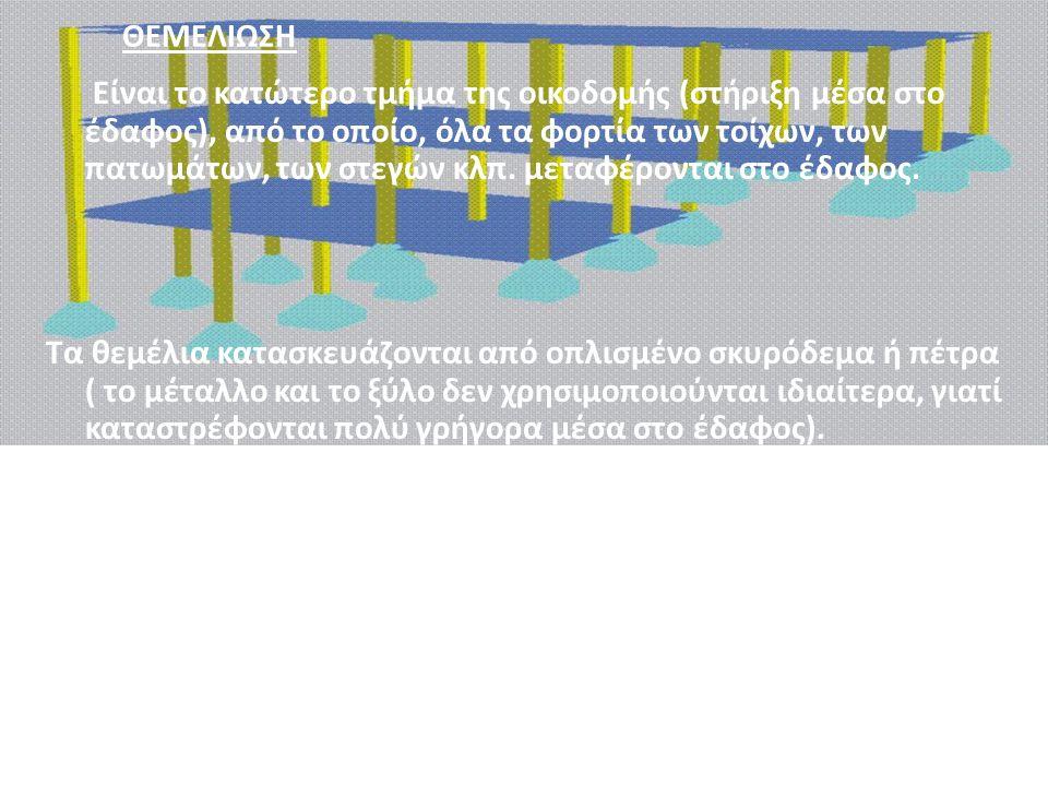 3 ο στάδιο :Θεμελίωση (υποδομή) 4 ο στάδιο :Φέρων οργανισμός (ανωδομή) Αγράφας Γιάννης Καδής Γιάννης Κώτσελας Χαράλαμπος Κωτσιόπουλος Παναγιώτης