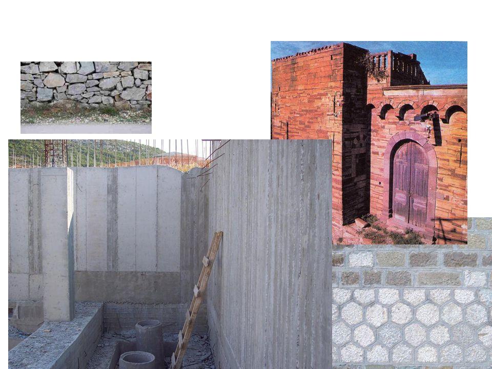 Διάκριση τοιχοποιιών ανάλογα με την θέση τους: • Εσωτερικοί τοίχοι: είναι αυτοί που διαχωρίζουν τους εσωτερικούς χώρους μεταξύ τους • Εξωτερικοί τοίχο