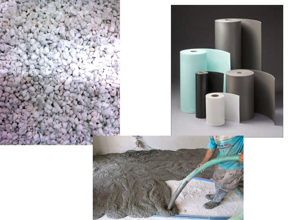 Ποια είναι τα ηχομονωτικά υλικά; • Τα βασικά θερμομονωτικά υλικά (πλάκες πολυστερίνης κ.λ.π.), έχουν ταυτόχρονα και ηχομονωτικές ιδιότητες.