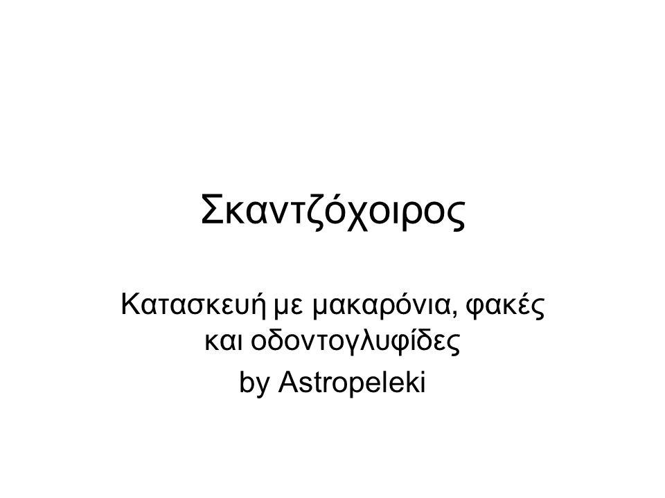 Σκαντζόχοιρος Κατασκευή με μακαρόνια, φακές και οδοντογλυφίδες by Astropeleki