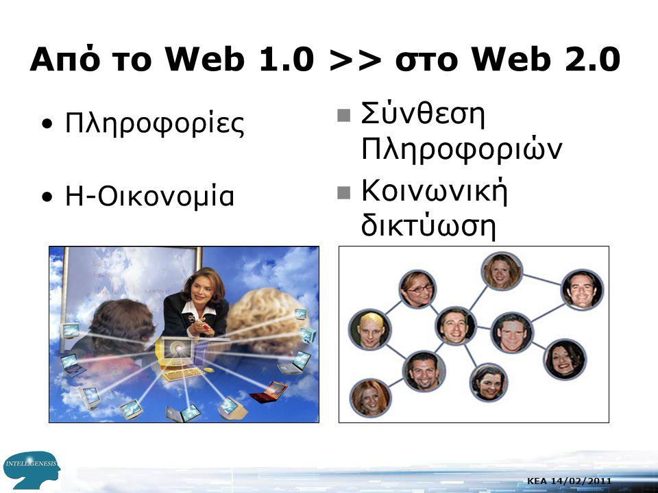 KEA 14/02/2011 Παράδειγμα Μαθησιακών Αντικειμένων •Γραμματικά φαινόμενα που συνοδεύονται με αντικείμενα, τη μουσική, τις ταινίες, multimedia κ.λπ.
