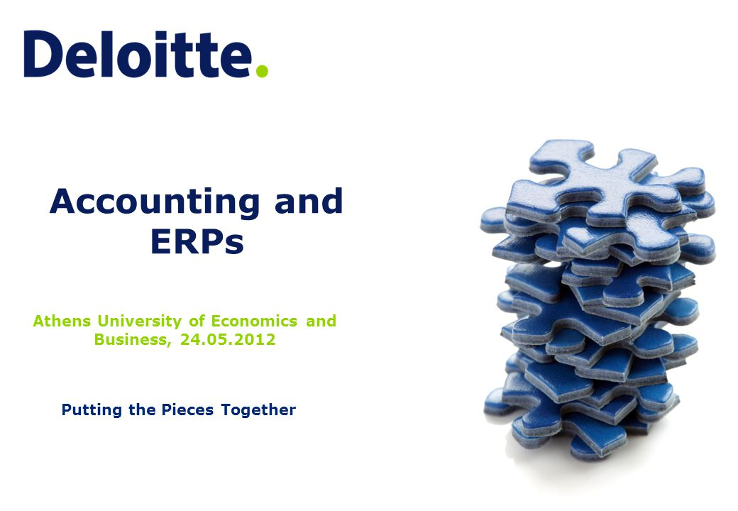 11 Accounting in ERPs – The Changing Role of the Accountant As it come apparent, the role of the Accountant has changed significantly during the last years:  The Accountant should be less Bookkeeper and more Accountant  It is no longer enough just to know the accounting standards and policies (IFRS, Greek GAAP, Group Policies etc)  The better someone knows the processes and the systems of the company, the better he understands the numbers shown in accounting.