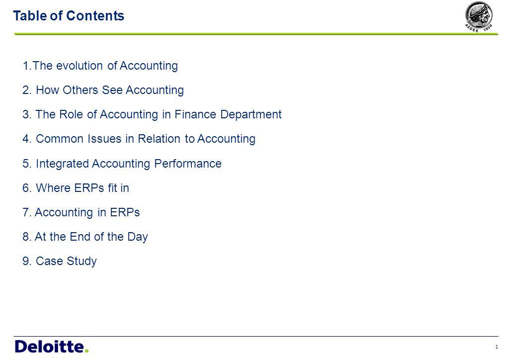 2 The Evolution of Accounting 1500194019501960197019801990200020121900 (Ένα εκατομμύριο, εκατόν μία χιλιάδες, εκατόν μία και δέκα)