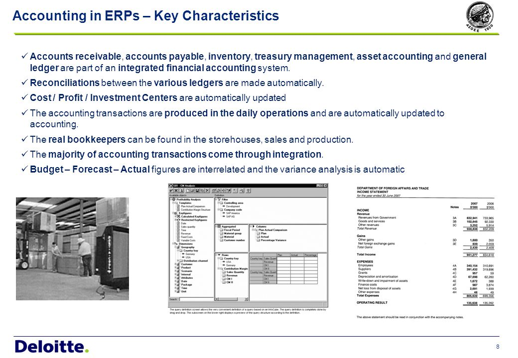 9 Accounting in ERPs – How does it work.Assume that we sell cars.