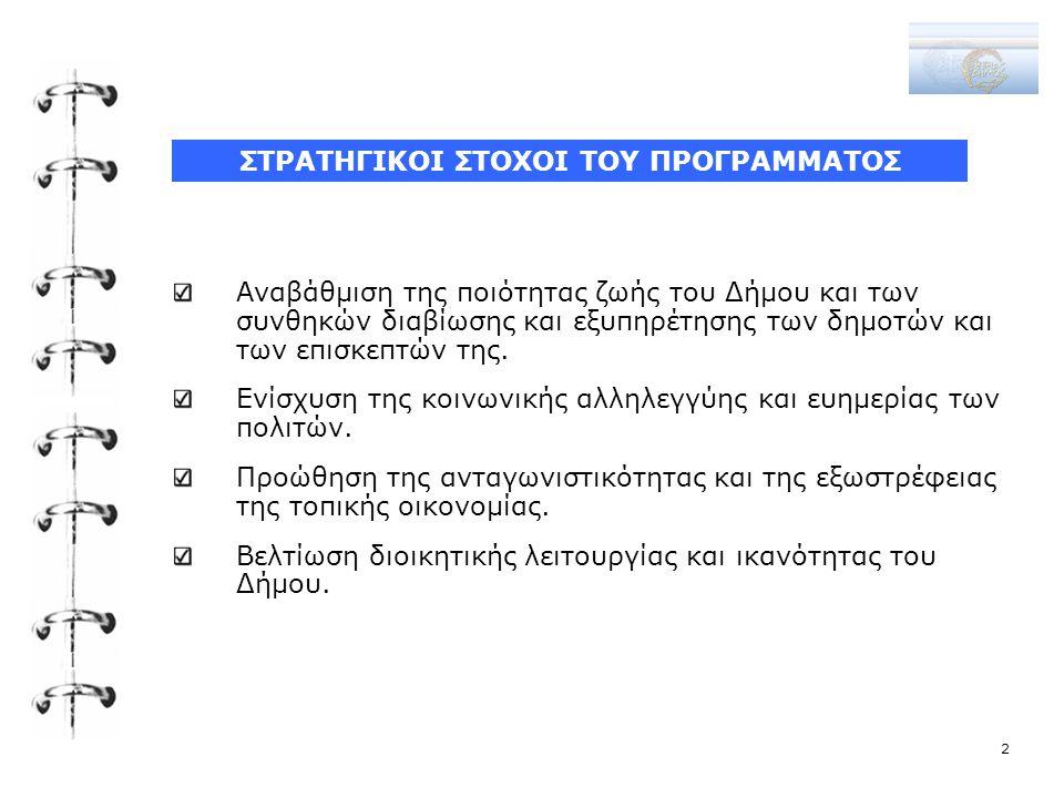 ΑΞΟΝΕΣ ΠΡΟΤΕΡΑΙΟΤΗΤΑΣ-ΜΕΤΡΑ-ΓΕΝΙΚΟΙ ΣΤΟΧΟΙ 3