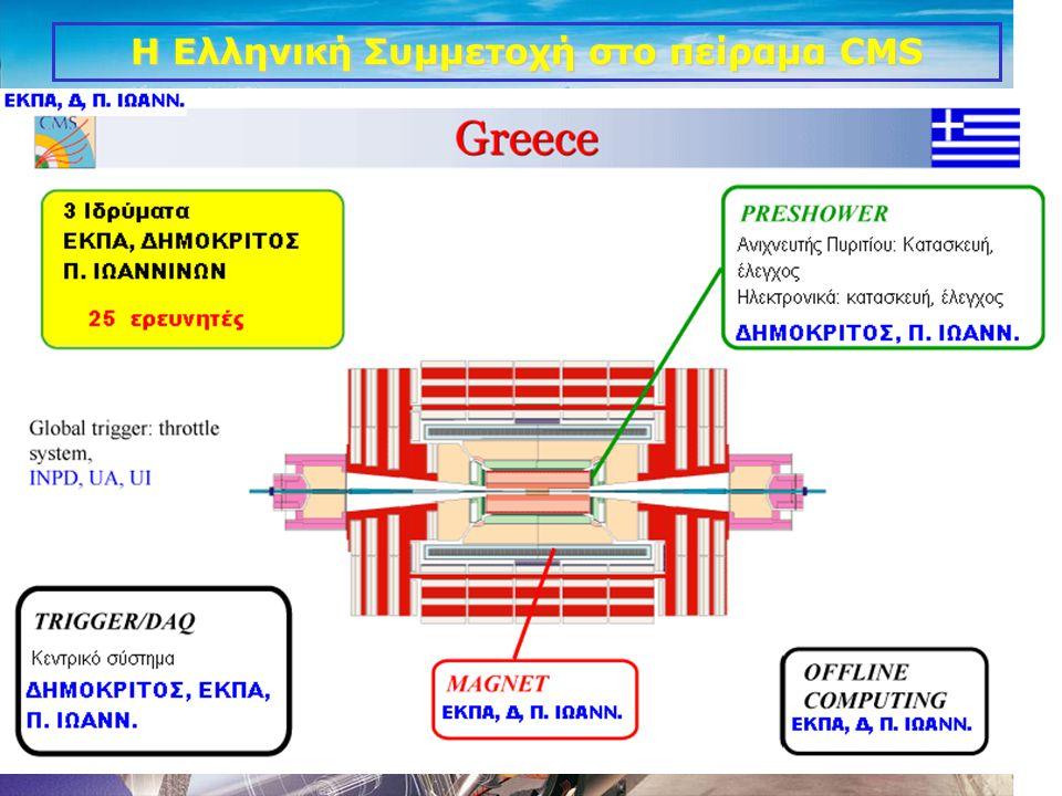 14 Η Ελληνική Συμμετοχή στο πείραμα CMS