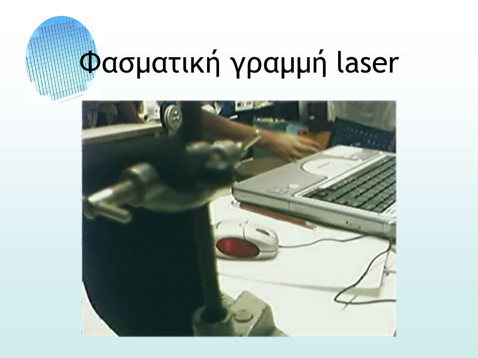 Φασματική γραμμή laser