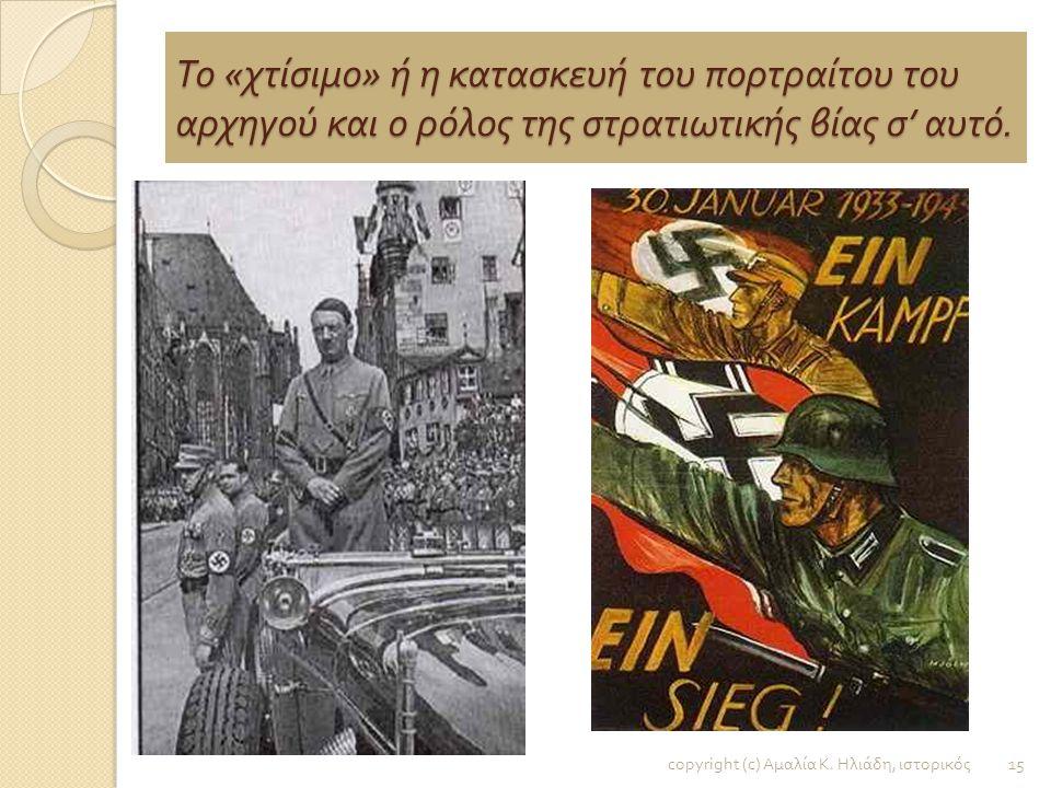 Η Νεολαία υπηρετεί τον Φύρερ / Ερμηνεία των φωτογραφιών του Χίτλερ με παιδιά και των δύο φύλων. copyright (c) Αμαλία Κ. Ηλιάδη, ιστορικός 14