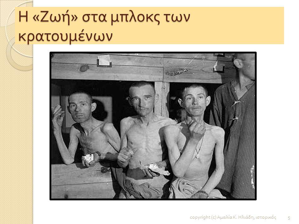 Ολοκαύτωμα - Στρατόπεδα συγκέντρωσης copyright (c) Αμαλία Κ. Ηλιάδη, ιστορικός 4